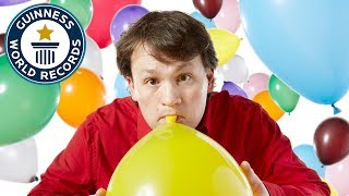 The Balloon Guy - Meet The Record Breakers