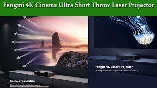 Fengmi 4K Cinema Ultra Short Throw Laser Projector