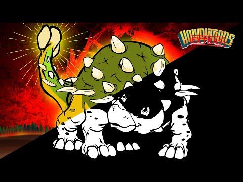 "The Making of ""Ankylosaurus"" Dinosaur Songs from Dinostory by Howdytoons"