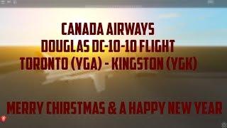 Roblox | CANADA AIRWAYS | Ro-Aviation Flight | McDonnell Douglas DC-10-10