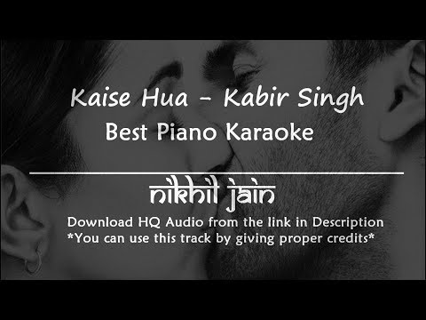 kaise-hua---kabir-singh-|-piano-karaoke-|-best-karaoke-with-lyrics