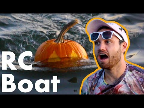 I Built the World's Fastest Pumpkin Boat