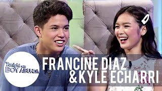 Kyle and Francine's first impression of each other | TWBA