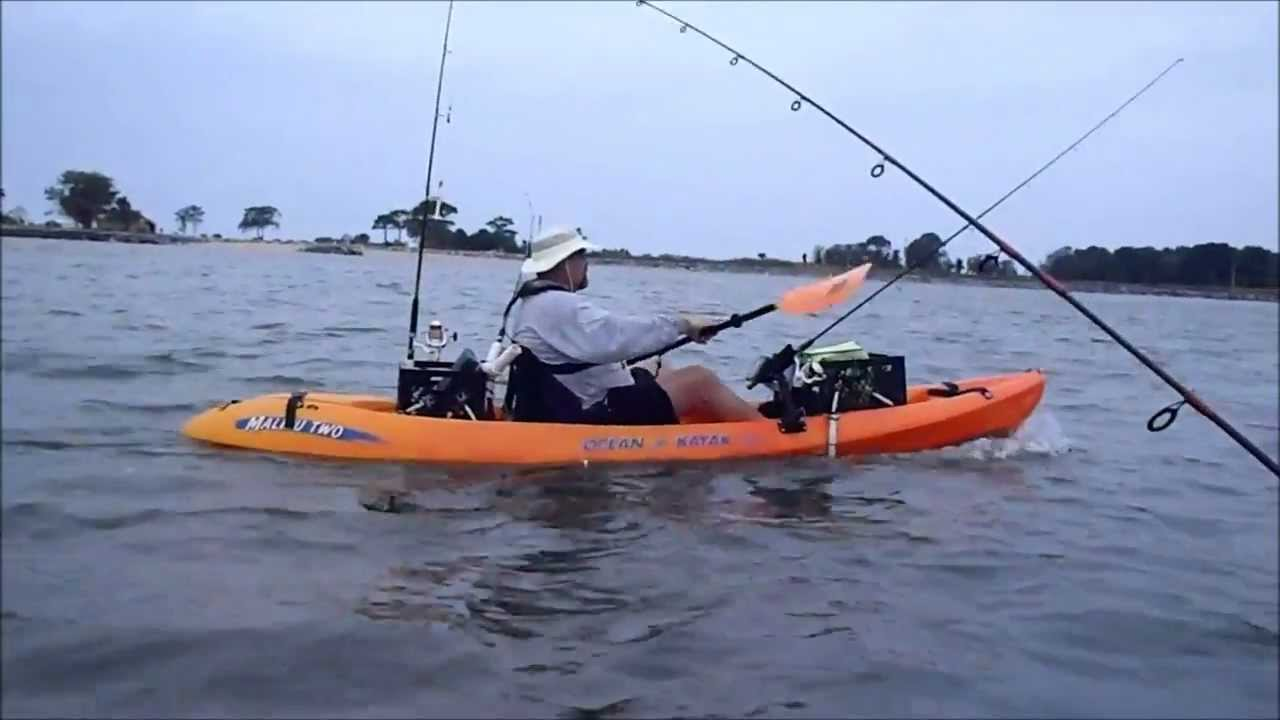 Kayak fishing point lookout md september 1 2012 youtube for Md fishing report point lookout