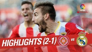 Resumen de Girona FC vs Real Madrid (2-1)