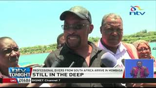 Likoni ferry tragedy: Professional divers from South Africa arrive in Mombasa