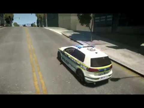 SAPS Flying Squad Golf 7 GTI (sample response) - GTA 4