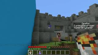 PopularMMOs Pat and Jen Minecraft THIS CAKE IS A LIE!!!   Trolling Buttons   Custom Map 1