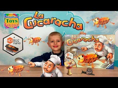 Кукарача Нано Таракан на кухне Нано жук супер игра La Cucaracha hexbug nano Bugs in the Kitchen game