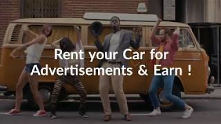 Rent Your Car for Advertisement & Earn More - Bazzifer ADs
