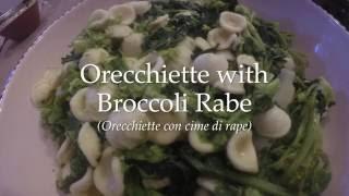Orechiette with Broccoli Rabe