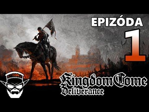 PRES DRŹKU HNEĎ Z RÁNA ! - Kingdom Come Deliverance / 1080p 60fps / CZ/SK Lets Play / # 1