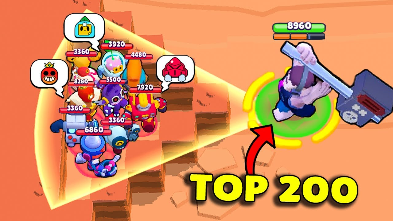 TOP 200 FUNNIEST MOMENTS IN BRAWL STARS #193