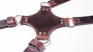 Разгрузка для фотографа. Кистевой ремень из натуральной кожи. Double camera strap. Hand strap.