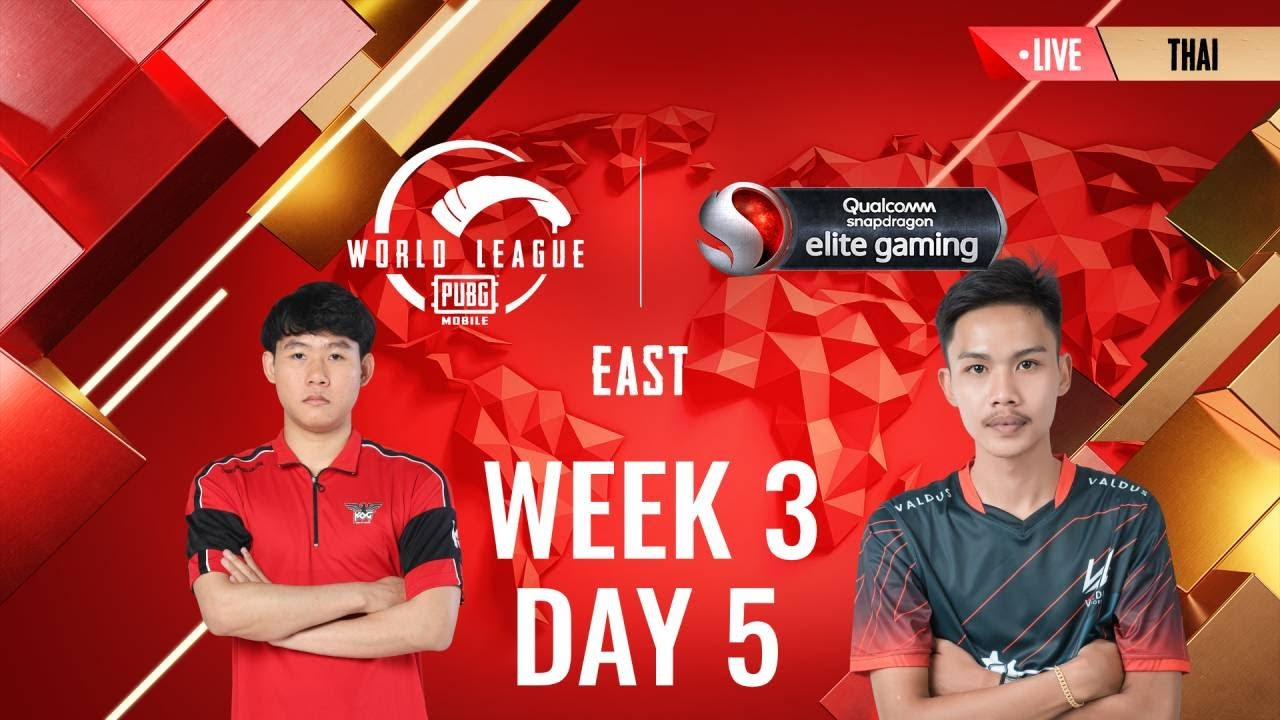 [THAI] W3D5 - PMWL EAST - Super Weekend | PUBG MOBILE World League Season Zero (2020)