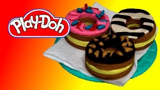 How to make Doughnuts out of Play Doh