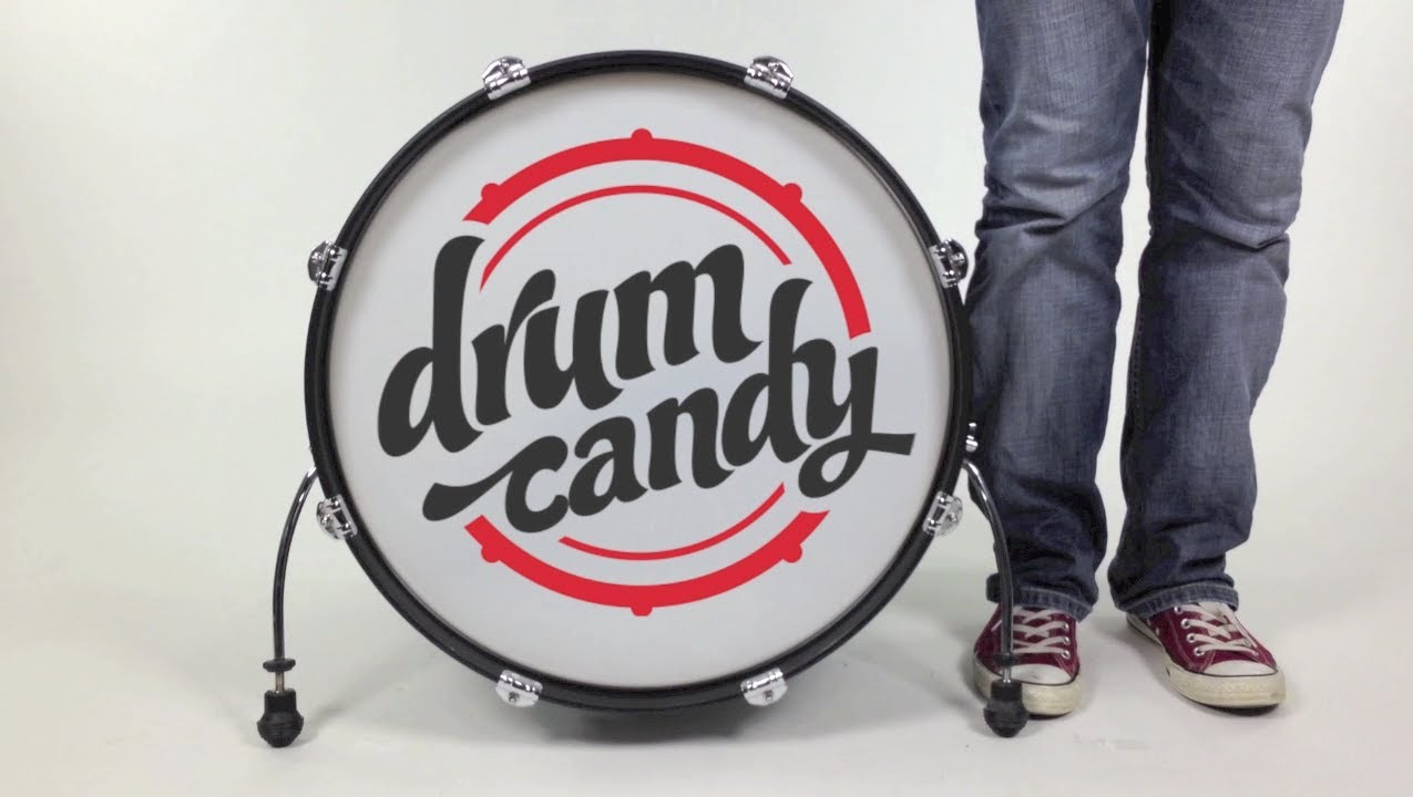 Bass Drum Sticker