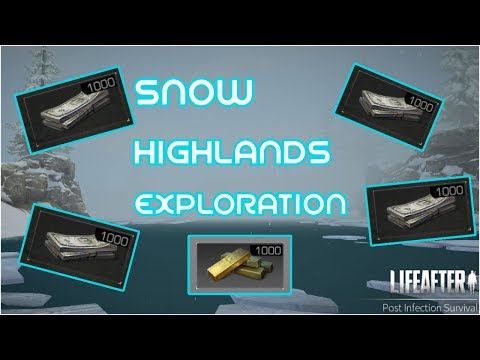 Snow Highlands Exploration | LIFEAFTER GAME