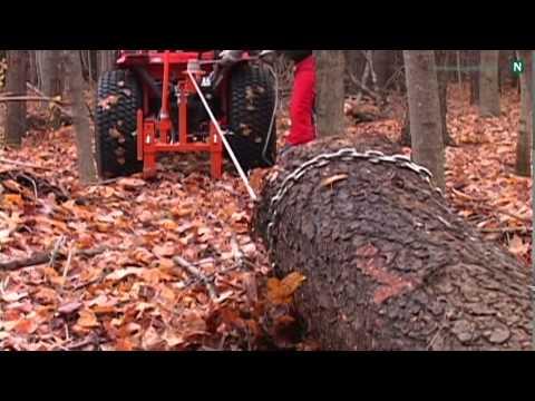 Hydraulic Log Skidding Winch for Tractors - SkidWinch by Norwood Sawmills