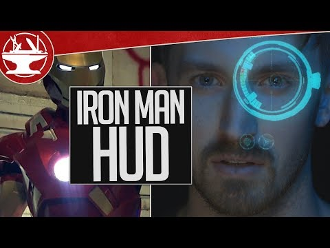 Real Working Iron Man HUD (the EXO is BACK!)