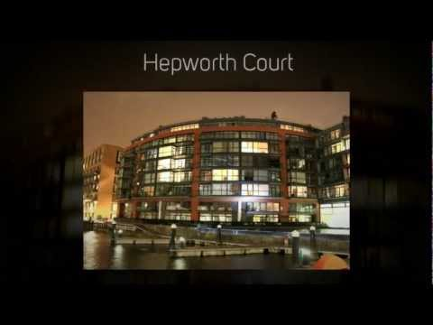 The luxury development of Grosvenor waterside, SW1W