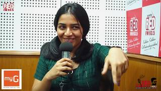 Rajisha Vijayan June RJ Mike Red Carpet Red FM Malayalam