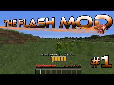 Minecraft The Flash Mod Adventures Episode 1 I'm Barry Allen