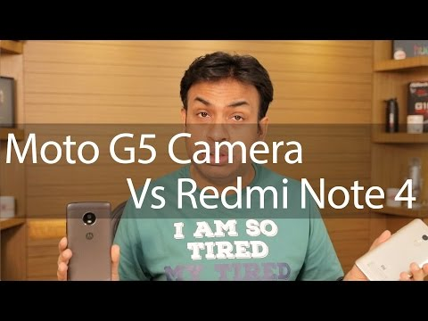 Moto G5 VS Redmi Note 4 Camera Comparison with Samples