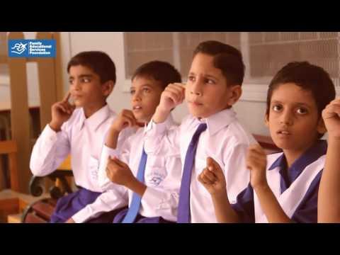 Making of Deaf Reach School TVC