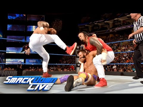 The Hype Bros vs. The Usos: SmackDown LIVE, Sept....