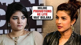 Zaira Wasim's Big Decision About Priyanka Chopra The Sky Is Pink