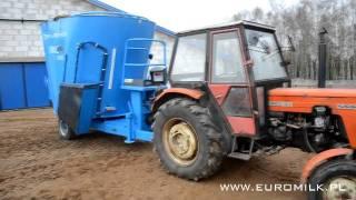 Wóz paszowy EUROMILK RINO FX