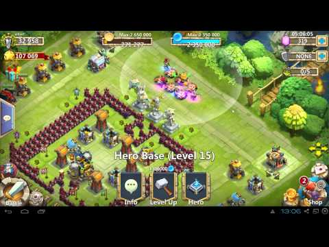 Castle Clash How To Solo Boss 2 Using Elite!!! Best Heroes For Boss Battle