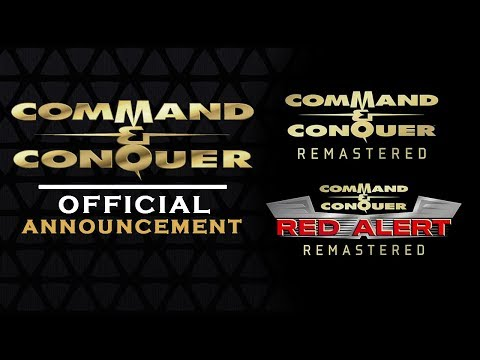 COMMAND AND CONQUER    FIRST   Tiberiun Dawn  Red Alert REMASTERED 2018