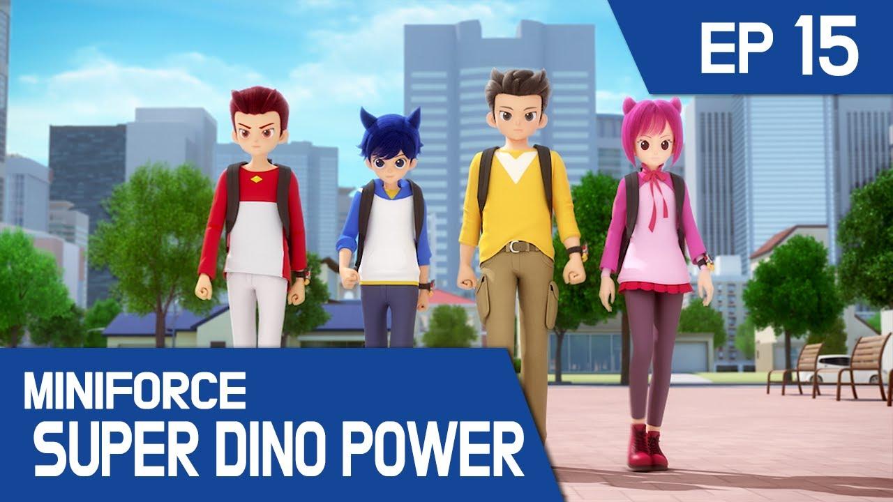 Download [MINIFORCE Super Dino Power] Ep.15: Miniforce Rangers Transform Into Humans!
