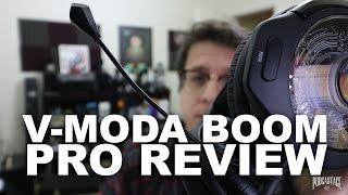 V-Moda Boom Pro Headset Mic Review / Test