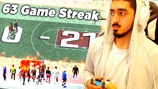 ENDING A 63 GAME WIN STREAK in NBA2K20