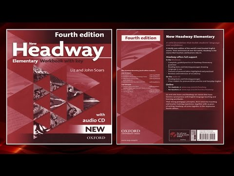 New Headway Elementary Exercise Book 4th -All Units