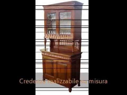 Credenza Con Libreria : Produzione librerie credenze con alzata cristalliere e vetrine