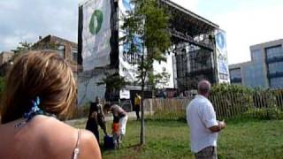 """Keane NEW SONG """"Disconnected"""" soundcheck @ Brooklyn Waterfront"""