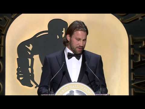 Peter Forsberg Hockey Hall of Fame Induction Speech (2014)