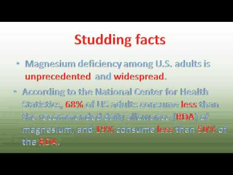 Magnesium Malate Benefits And Best Magnesium Supplement; Jigsaw Magnesium