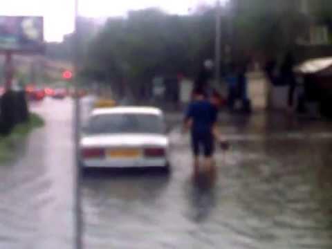 Rain in Yerevan