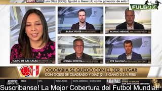 Colombia VENCE 3-2 a Perú por Tercer Lugar de Copa América 2021 CUMPLIÓ? Análisis EntreCopas