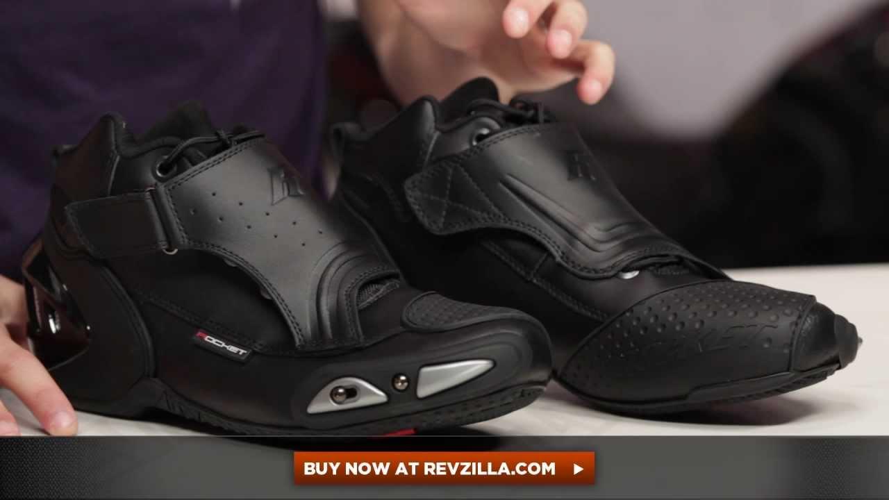 1628b7e15def6 Joe Rocket Velocity V2X Riding Shoes Review at RevZilla.com - YouTube