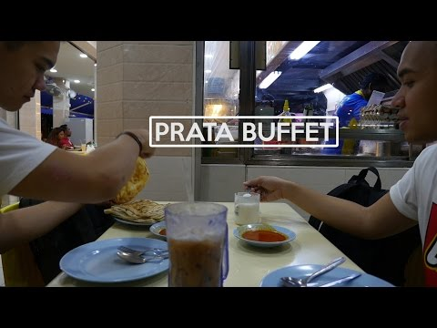 EATING AS MUCH ROTI PRATA AS POSSIBLE