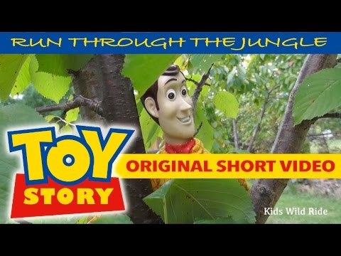 Woody TOY STORY 4 Parody: Original Video:  Batman Toys, Buzz Lightyear, Disney, Toy Story Toys