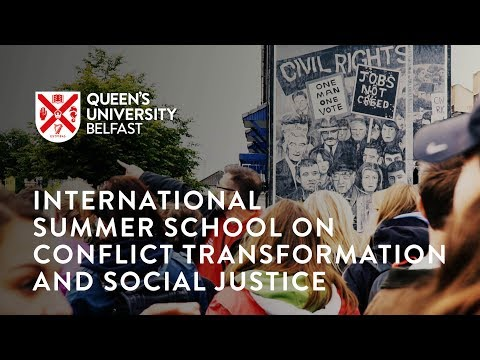 International Summer School on Conflict Transformation and Social Justice