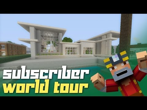 Minecraft Xbox 360: Subscriber World Tour! (Fan Creations!)