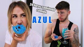 24 HORAS COMIENDO AZUL |Hermanos Jaso